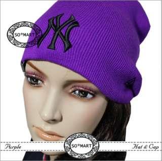 Women Ladies Winter Knit Cycling Biker NY Beanie Cap SKI Hat