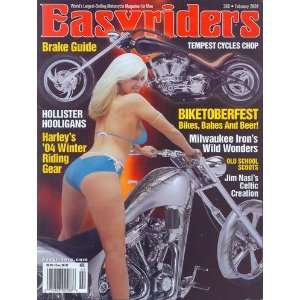 MAGAZINE   FEBRUARY 2004   ISSUE # 368: EASYRIDERS MAGAZINE: Books