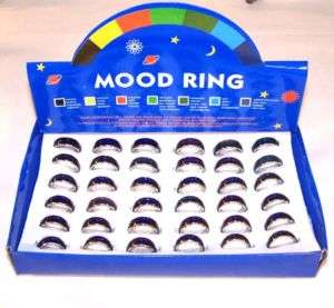 12 MOOD BAND RING change color rings custome jewelry