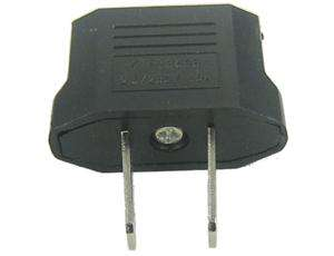 description eu au to us interchangeable travel plug adapter converts