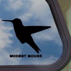 MODEST MOUSE Black Decal HUMMINGBIRD BAND ALBUM Car Sticker