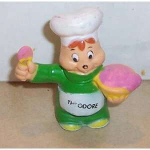 1983 Ideal Alvin & The Chipmunks Theodore Cooking PVC