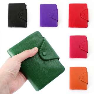 Medium Bifold Wallet Back,Green,Pink,Purple,Orange,Red SMBC LZ039