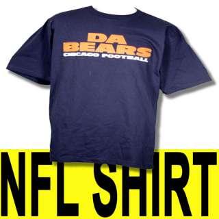 CHICAGO BEARS DA BEARS T SHIRT REEBOK NFL MENS NEW XL