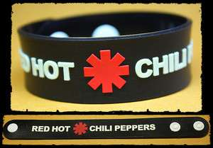 RED HOT CHILI PEPPERS Rubber Bracelet Wristband