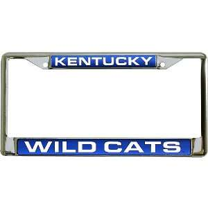 Kentucky Wildcats Laser Chrome Frame From Rico Sports