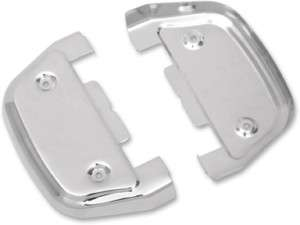 CHROME Passenger Footboard Covers Harley Road King