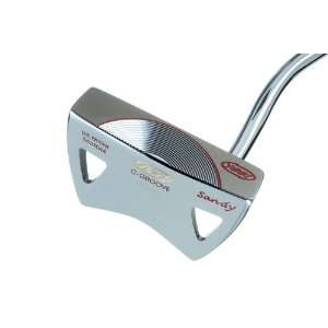 Yes C Groove Putter Golf Club 34   Red Sandy RH