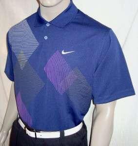 2011 Nike Golf Weld Print Tour Polo Shirt $65 (440)