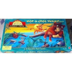 Lion King Simbas Pride Hop A Croc Swamp Game Toys