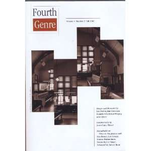 : Fourth Genre, Fall 2002 (Volume 4, Number 2): Lee Martin, Lad Tobin