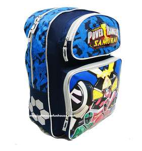 Disney POWER RANGERS SAMURAI Large 16 School Backpack NEW