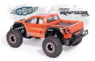 JConcepts 0084 Unpainted Ford Raptor SVT Body Slash 2wd
