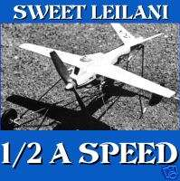 CONTROL LINE SPEED AIRPLANES PLANS