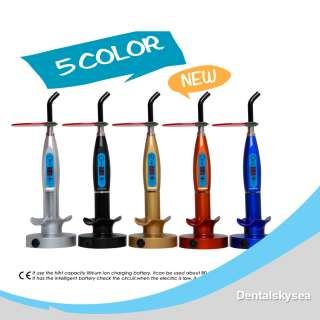 Dental Wireless Cordless LED Curing Light Lamp 1500mw