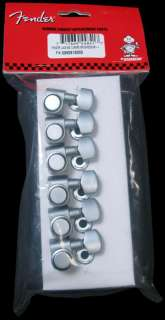 Fender/Schaller Locking Tuning Machines Brushed Set 6