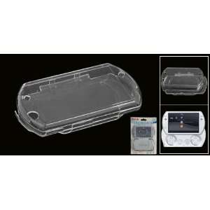 Clear Transparent Crystal Plastic Case for Sony PSP GO