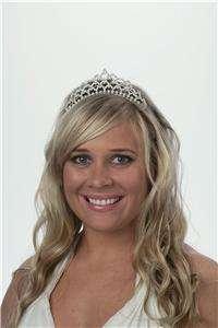 Rhinestone Wedding Bridal Hair Jewelry Crystal Tiara