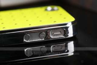 Bling Crystal Star Hard Case+Free Film For iPhone 4 4G 4S