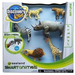 Animal Figures 6 Pack   Grassland Animals (animals may vary): Toys