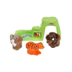 Little People Grassland Animal Set: Toys & Games