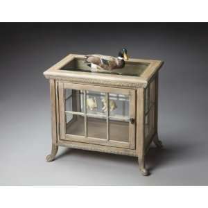 Butler 0339247 Driftwood Side Chair Curio: Furniture & Decor
