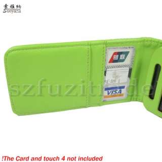 Flip Case Cover Skin For iPod Touch 4 4th 4G Gen 8GB 32GB