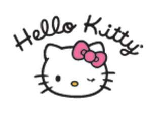 Kei oi Cyber Goth HELLO KITTY Kawaii MAKEUP BAG PURSE