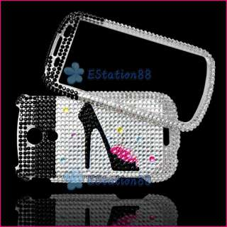 For Samsung Epic 4G Galaxy S Bling Diamond Heels Case