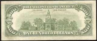 1977 $100 DOLLAR BILL FEDERAL RESERVE STAR NOTE DALLAS Fr 2168 K* EF