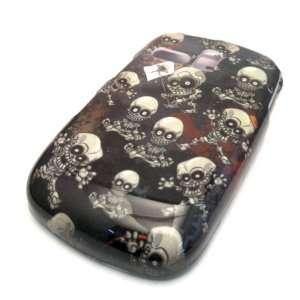 Samsung R355c Black Baby Skull Design Hard Case Cover Skin