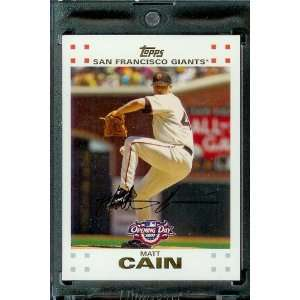 2007 Topps Opening Day #17 Matt Cain San Francisco Giants