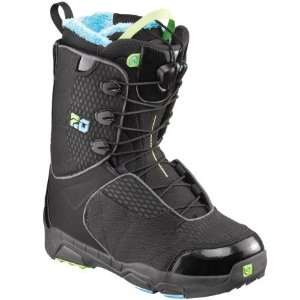 Salomon Snowboards F20 Snowboard Boot   Mens Black/Blue/Pop Green, 25