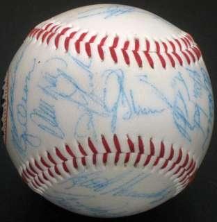 1986 Mets World Series Team Signed Autographed Baseball PSA/DNA (29