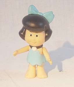 Vintage Flintstones Betty Rubble Hanna Barbera Figure