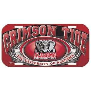 NCAA Alabama Crimson Tide High Definition License Plate