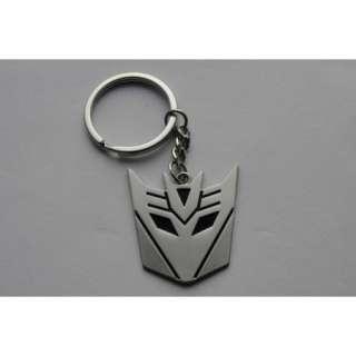 Metal Transformers Autobot & Decepticon Symbol Keychain