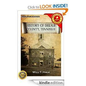 History of DeKalb county, Tennessee Will T. Hale  Kindle