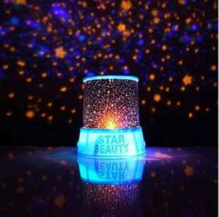 Romantic Amazing sky star Colorful lamp night LED light projector New