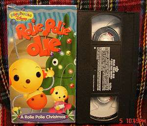 Walt Disneys A ROLIE POLIE OLIE CHRISTMAS Vhs Video TRUSTED SELLER