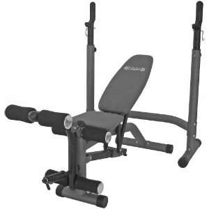 Competitor olympic weight bench 600 lb weight capacity with free Academy weight bench