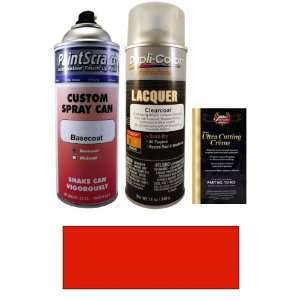 com 12.5 Oz. Dodge Red No.3 Spray Can Paint Kit for 1957 Dodge Trucks