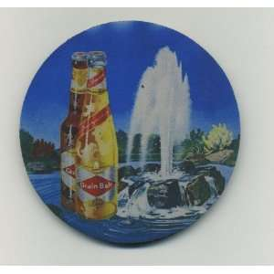 Grain Belt beer coaster set   fountain