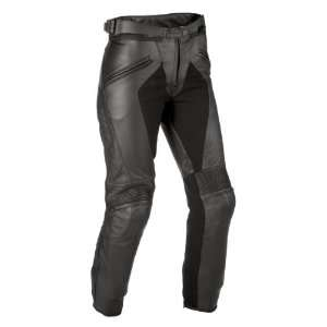 DAINESE PELLE PONY WOMENS LEATHER PANTS BLACK 50