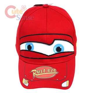 Disney Pixar Cars Mcqueen Baseball Cap/ Hat  Canvas