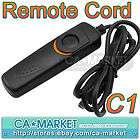 Remote Shutter Cord for Canon Rebel T1i T2i XS XSi