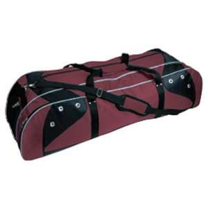 Martin Baseball Deluxe Players Bag MAROON/BLACK 42 L X 13