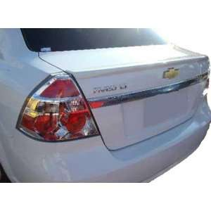 07 11 Chevrolet Aveo 4dr Lip Spoiler   Factory Style   Painted or