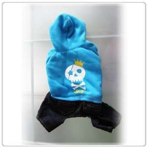 Pet Dog Clothing and Apparel Shirt and Jeans One piece