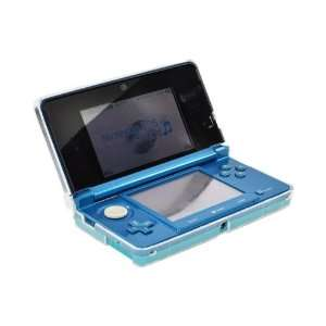 Clear Hard Plastic Case For Nintendo 3DS Electronics